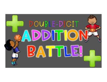 Double Digit Addition Battle