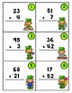 Double Digit Addition - Leprechaun Scoot
