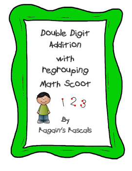 Double Digit Addition Math Scoot