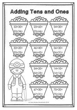 Double Digit Addition with Regrouping Worksheets | Worksheets ...