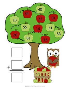 Double Digit Addition: No Regrouping