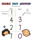 Double Digit Addition Poster