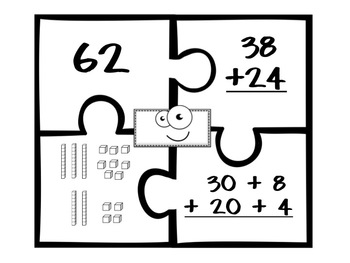 Double-Digit Addition Puzzles
