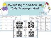 Double Digit Addition QR Code Scavenger Hunt