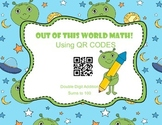Double Digit Addition QR Task Cards