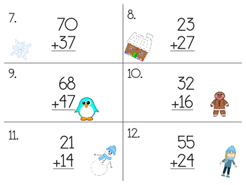 Double-Digit Addition Scoot