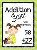 Double Digit Addition Scoot- Complete Bundle