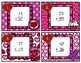 Double-Digit Addition Scoot with Regrouping Valentine's