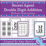 Double Digit Addition(without regrouping) Secret Code
