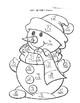 Double Digit Addition Snowman