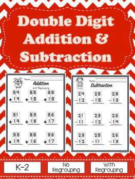 Double Digit Addition & Subtraction