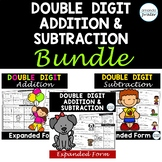 Double Digit Addition & Subtraction Bundle: Expanded Form Without Regrouping