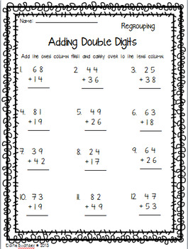 Double Digit Addition & Subtraction Pack