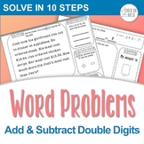 Double Digit Addition & Subtraction Word Problems