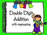 Double Digit Addition With Regrouping Interactive PowerPoint
