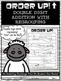 Double Digit Addition With Regrouping - Order Up!