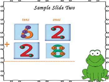 Double Digit Addition (Horizontal Problems - With and Without Regrouping)