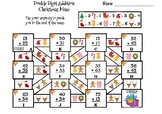 Double Digit Addition Without Regrouping Christmas Math Maze