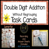 Double Digit Addition Without Regrouping ~ Summer theme Ma