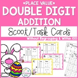 Double Digit Addition Without Regrouping Task Cards - Numb