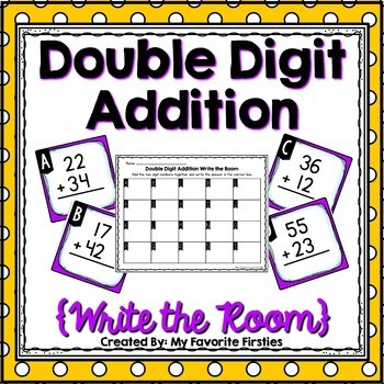 Double Digit Addition (Without regrouping)