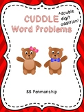 Double Digit Addition Word Problems