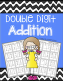 Double Digit Addition Worksheets