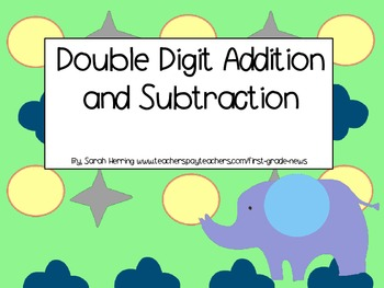 Double Digit Addition and Subtraction