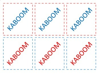 Double Digit Addition and Subtraction KABOOM with No Regrouping