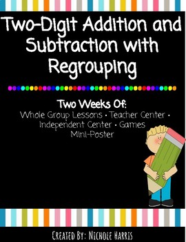 Double Digit Addition and Subtraction Regrouping