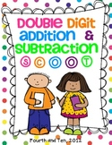 Double Digit Addition and Subtraction Scoot