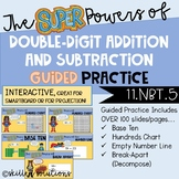 Double-Digit Addition and Subtraction Strategies GUIDED PRACTICE