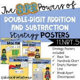 Double-Digit Addition and Subtraction Strategy Posters