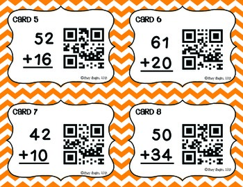 Double-Digit Addition and Subtraction Task Card BUNDLE