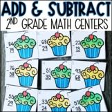 Double Digit Addition and Subtraction Centers
