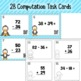 Double Digit Addition and Subtraction With Regrouping Task Cards and Activies