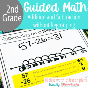 Double Digit Addition and Subtraction Without Regrouping Activities
