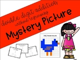 Double Digit Addition and Subtraction - Without Regrouping - Mystery Picture