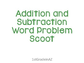 Double Digit Addition and Subtraction Word Problems