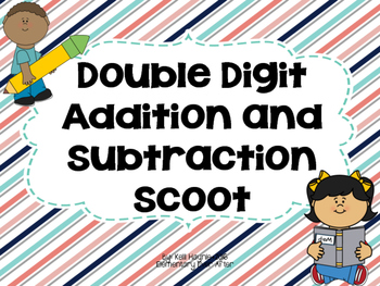 Double Digit Addition and Subtraction Write the Room