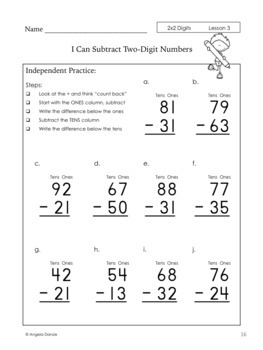 Addition and Subtraction with No Regrouping {Intervention, Special Ed}