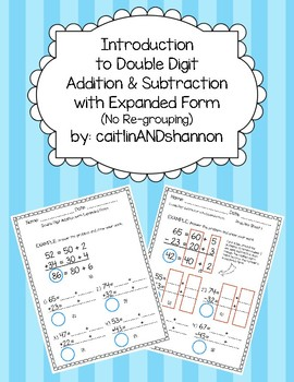 Introduction to Double Digit Addition and Subtraction with