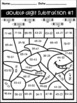 Ocean Animal Color by Code- Two Digit Addition and Subtraction NO Regrouping