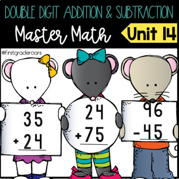 Double Digit Addition and Subtraction without Regrouping Master Math Unit 14
