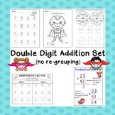 Double Digit Addition without regrouping Practice