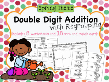 Double Digit Addition w/ Regrouping