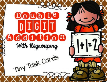 Double Digit Addition with Regrouping