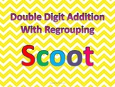 Double Digit Addition with Regrouping Scoot