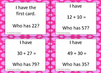 Double Digit Addition with multiples of 10