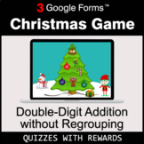 Double-Digit Addition without Regrouping | Christmas Decoration Game